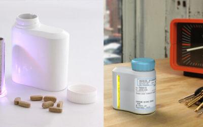 Li Poly Battery LP435583 3.7V 2200mAh for smart medicine bottle