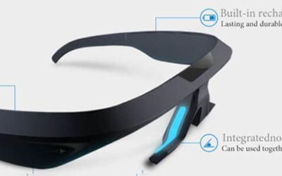 Custom Li Polymer Battery LP401230 110mAh for Smart sleep glasses