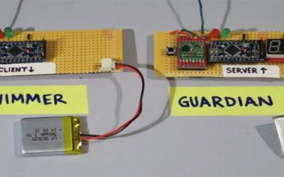 LiPo Battery 3.7V LP503035 450mAh for wrist-worn swimming wearable