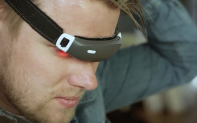 Slight lithium battery for health tracking headband