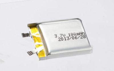 Lithium Polymer Batteries 100-200mAh