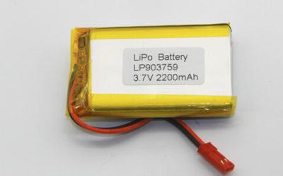 Lithium Polymer Batteries 2000-3000mAh