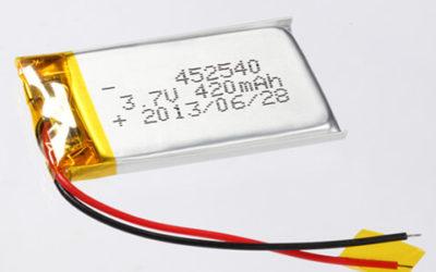 Lithium Polymer Batteries 400-500mAh