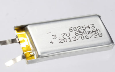 Lithium Polymer Batteries 600-700mAh