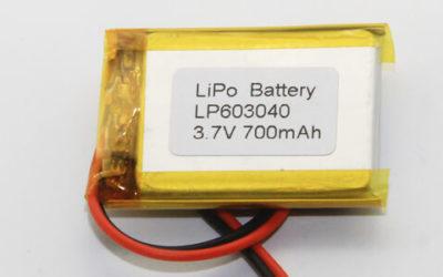 Lithium Polymer Batteries 700-800mAh