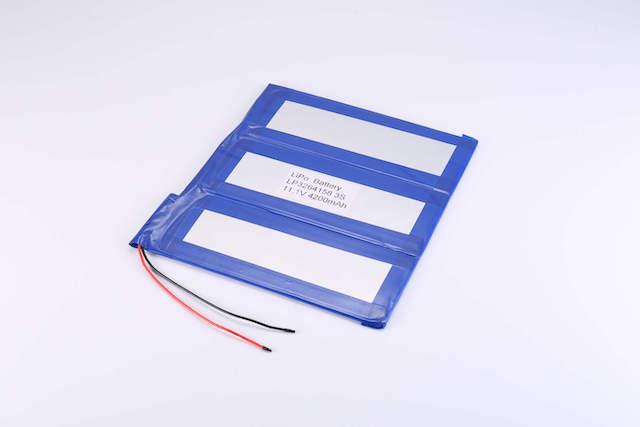 lithium polymer batteries packs in series & parallel