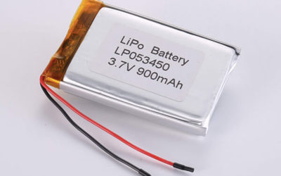Standard lithium polymer batteries LP053450 900mAh with 3.33Wh