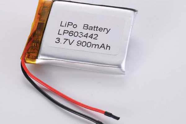 Standard lithium polymer batteries LP603442 900mAh