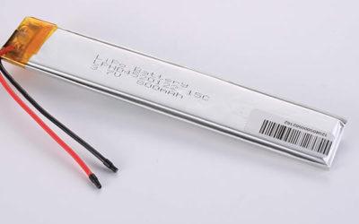 Standard High Rate lithium polymer batteries LPHD4520122 15C 800mAh