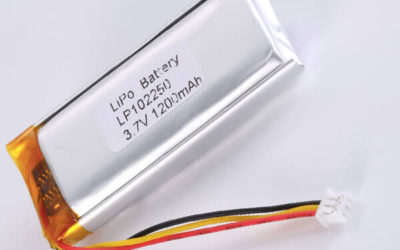 Standard lithium polymer batterie LP102250 1200mAh with 4.44Wh