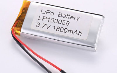 Standard lithium polymer batteries LP103058 1800mAh with 6.66Wh