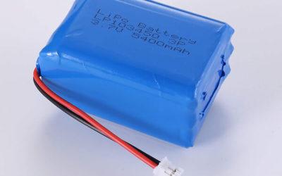 Standard lithium polymer batterie LP103450 3.7V 5400mAh