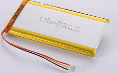 10000mAh 3.7V Standard Lithium Polymer Batteries LP1066121