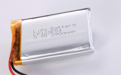 Standard lithium polymer batteries LP123654 2800mAh with 10.36Wh