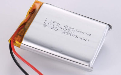 Hot Selling lithium polymer batteries LP124053 2900mAh with 10.73Wh