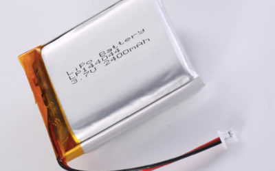 Hot Selling lithium polymer batteries LP144044 2400mAh with 8.88Wh