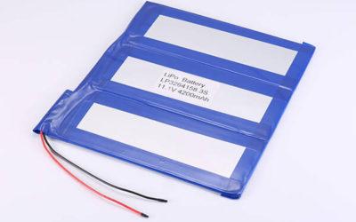 Hot Selling lithium polymer batteries LP3264158 3S 3.7V 4200mAh