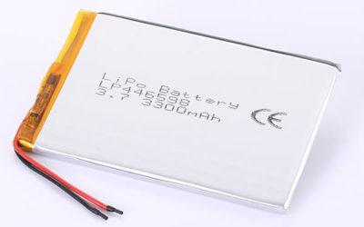 Hot Selling lithium polymer batteries LP446598 3300mAh