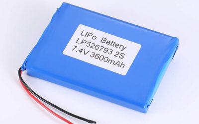 2S 7.4V Standard lithium polymer batterie LP526793 3600mAh