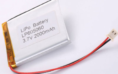 Standard lithium polymer batterie LP605060 2000mAh with 7.4Wh