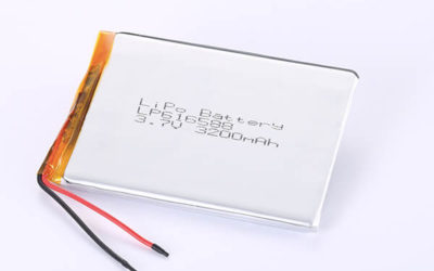 Standard lithium polymer batteries LP616588 3200mAh