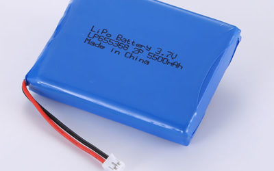 Hot Selling lithium polymer batteries LP655368 3.7V 5500mAh 2P