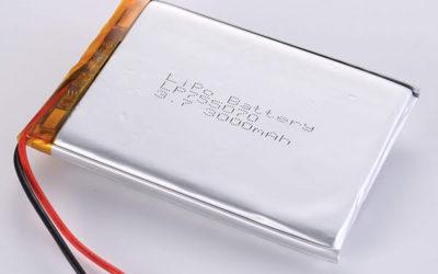 Hot Selling lithium polymer batteries LP755070 3000mAh