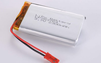 Rechargeable Hot Selling lithium polymer batteries LP783764 3.7V 2300mAh