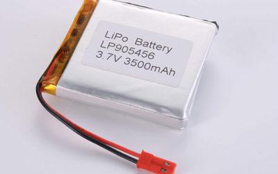Hot Selling lithium polymer batteries LP905456 3500mAh