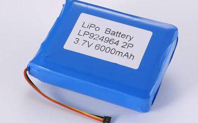 Hot Selling lithium polymer batteries LP924964 2P 3.7V 6000mAh