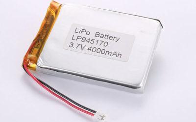 Hot Selling lithium polymer batteries LP945170 3.7V 4000mAh