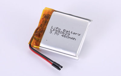Hot Selling Lithium Polymer Batteries LP592629 3.7V 460mAh with 1.702Wh