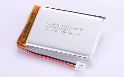 Rechargeable Lithium Polymer Batteries LP704060 3.7V 1800mAh with 6.66Wh