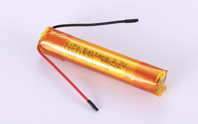 Hot Selling cylindrical Lithium Polymer Batteries LPC11530 3.7V 550mAh with 2.035Wh