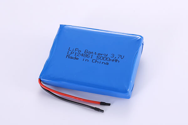 Hot Selling Standard Lithium Polymer Batteries LP124861 3.7V 5000mAh with 18.5Wh