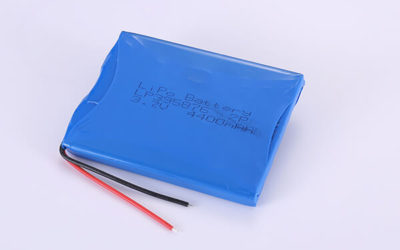 Multipurpose Rechargeable Lithium Polymer Batteries LP395876 3.7V 4400mAh