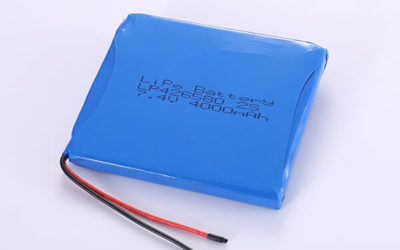Multipurpose Rechargeable Lithium Polymer Batteries LP426580 3.7V 4000mAh