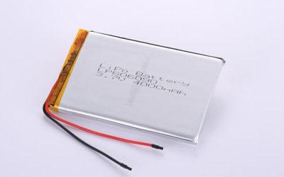 Multipurpose Rechargeable Lithium Polymer Batteries LP606090 3.7V 4000mAh