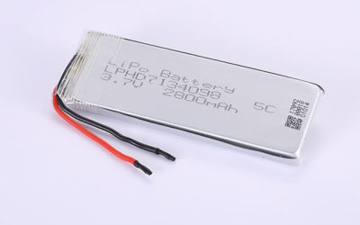 Rechargeable Lithium Polymer Batteries LPHD7134098 3.7V 2800mAh with 10.36Wh