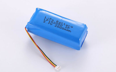 Standard lithium polymer batteries LP102050 2000mAh with 7.4Wh