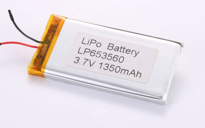 Hot Selling Lithium Polymer Batteries LP653560 1350mAh 4.995Wh