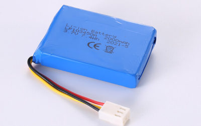 Hot Selling Lithium Polymer Batteries LP103450A 2000mAh 7.4Wh