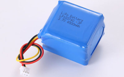 Hot Selling Rechargeable Lithium Polymer Batteries LP103740 3P 4500mAh 16.65Wh