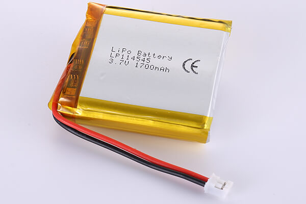 Hot Selling Lithium Polymer Batteries LP114545 1700mAh 6.29Wh