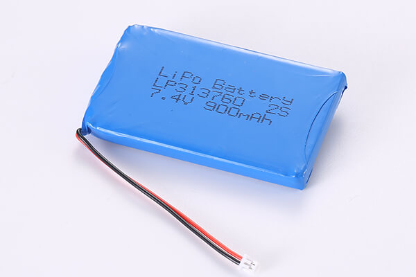 Standard Rechargeable Hot Selling Lithium Polymer Batteries LP313760 2S 900mAh 6.66Wh