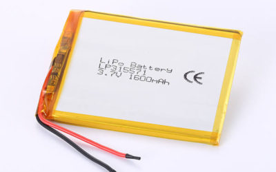 Hot Selling Lithium Polymer Batteries LP315571 1600mAh 5.92Wh