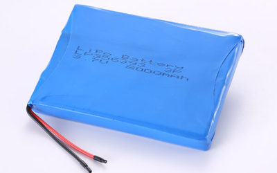 Hot Selling Multipurpose Rechargeable Lithium Polymer Batteries LP356393 3P 8000mAh 29.6Wh