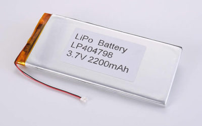 Standard lithium polymer batteries LP404798 2200mAh with 8.14Wh