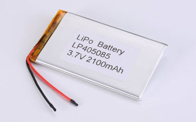 Standard lithium polymer batteries LP405085 2100mAh with 7.77Wh