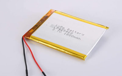 Rechargeable Lithium Polymer Batteries LP425468 3.7V 1800mAh with 6.66W